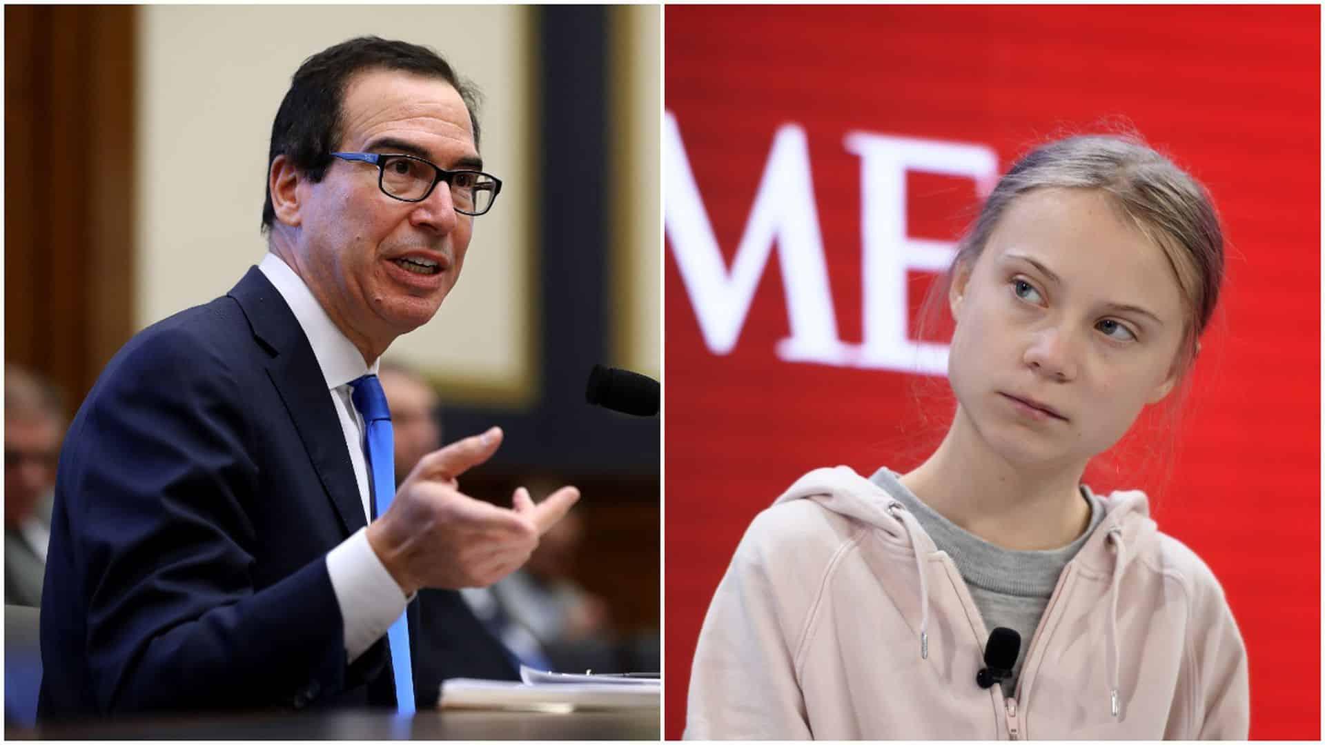 Greta Thunberg rebuked in Davos