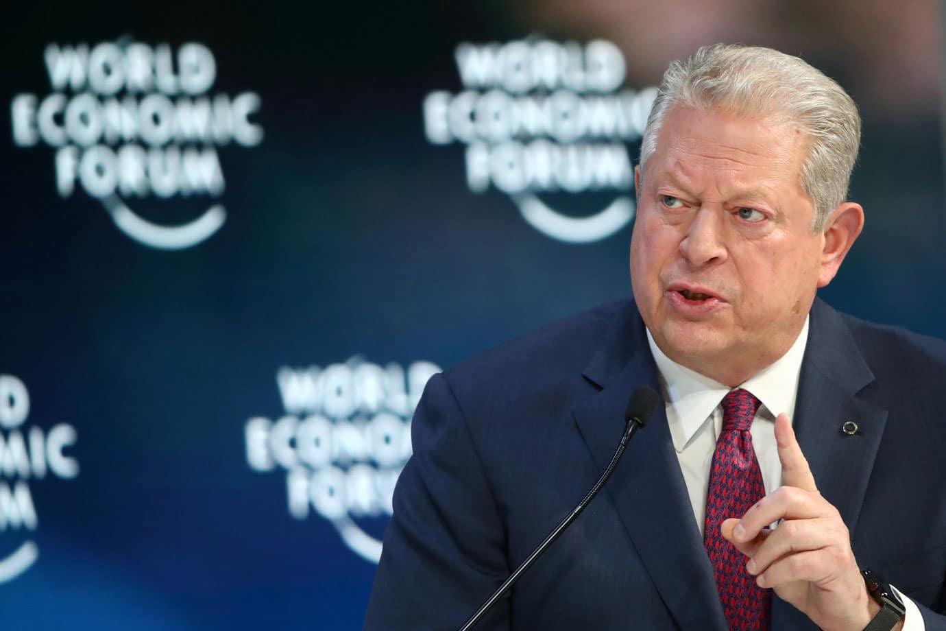 Al Gore in Davos