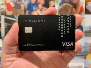 Alliant Cashback Visa Signature Credit Card